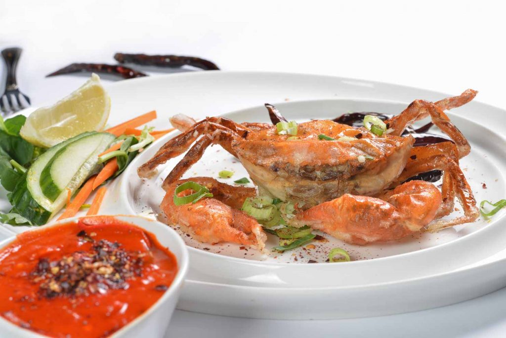 Balinese Spicy Chilli Crab